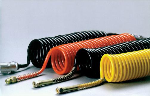 氣制動螺旋管及七芯電纜螺旋線